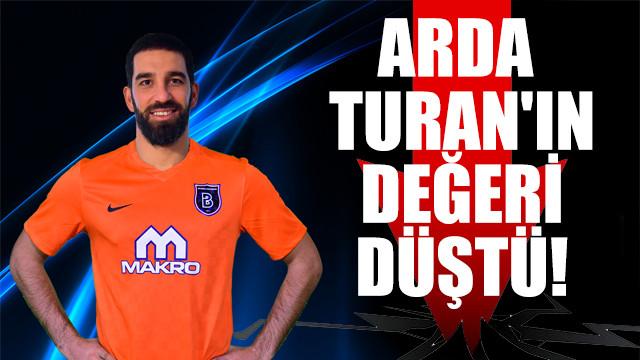 Arda Turan'ın değeri 34 milyon Euro'dan 4 milyon Euro'ya düştü
