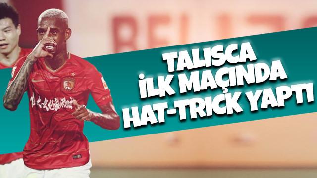 Talisca ilk maçında hat-trick yaptı
