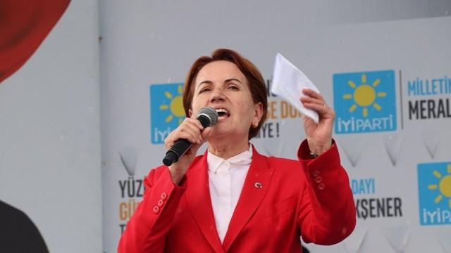 İYİ Parti Genel Başkanı Akşener: Hükümetin yanındayız