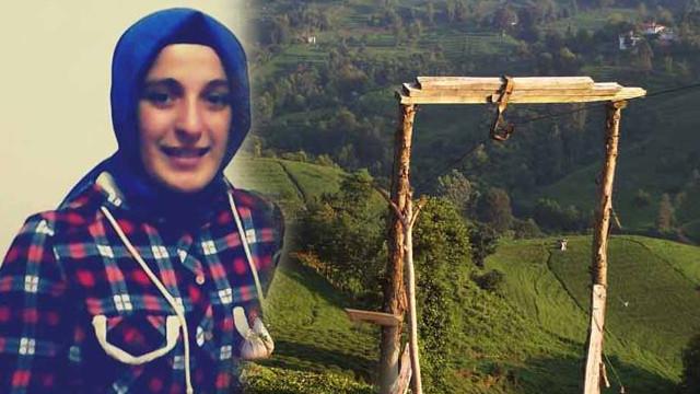 Rize'de ilkel teleferikte akıma kapılan genç kız hayatını kaybetti