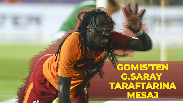 Gomis, Galatasaray taraftarına söz verdi