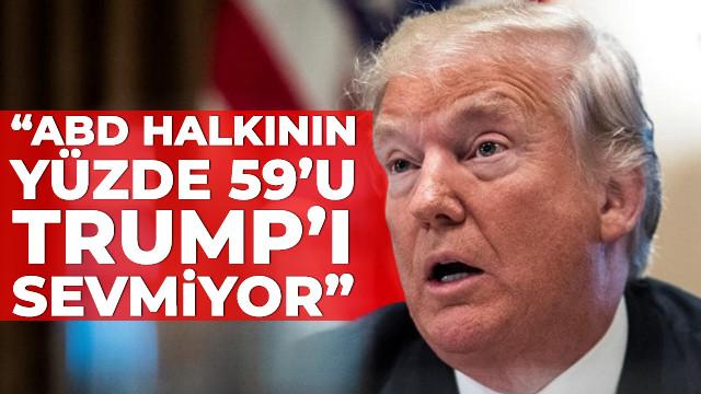 ABD seçmeninin yüzde 59'u Trump'tan hoşlanmıyor