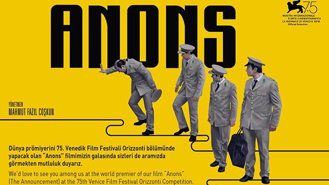 Anons filmine Venedik Film Festivali'nden özel ödül