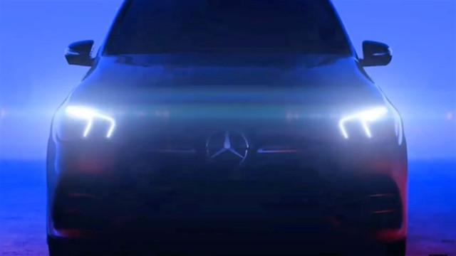 Mercedes yeni  GLE'nin görüntüsünü yayınlandı