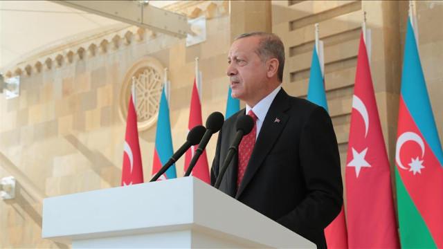 Cumhurbaşkanı Erdoğan'dan Azerbaycan'a tam destek mesajı