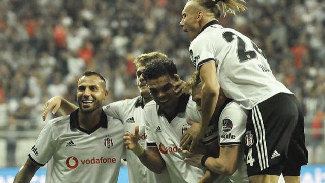 Beşiktaş maçında 3 gol, bir kırmızı kart
