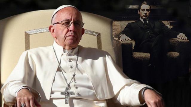 Papa'dan Sicilya mafyasına çağrı