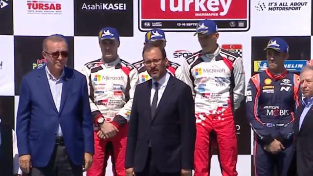 Dünya Ralli Şampiyonası'nda ödüller sahiplerini buldu