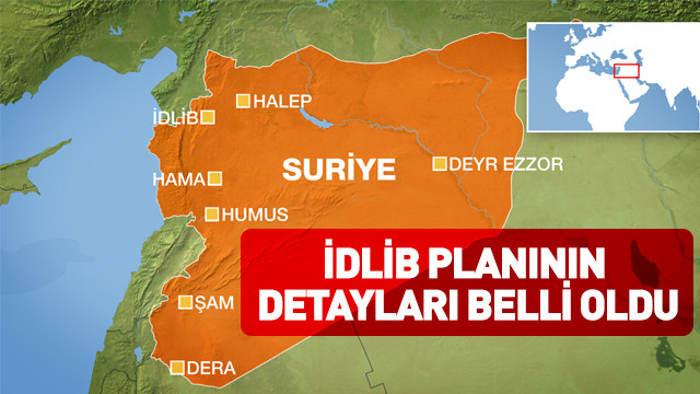 İdlib planının detayları belli oldu