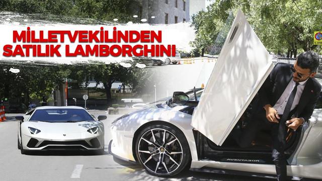 Milletvekilinden satılık Lamborghini