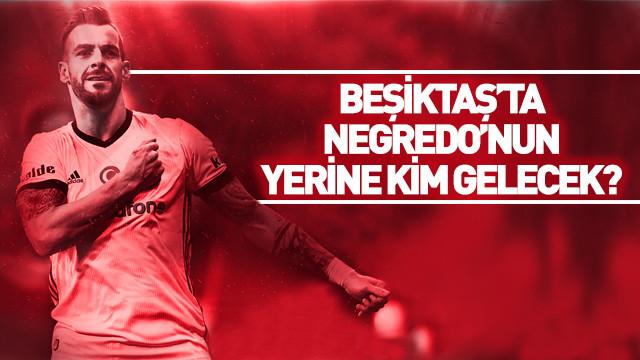 Beşiktaş'ta Negredo'nun yerine kim gelecek?