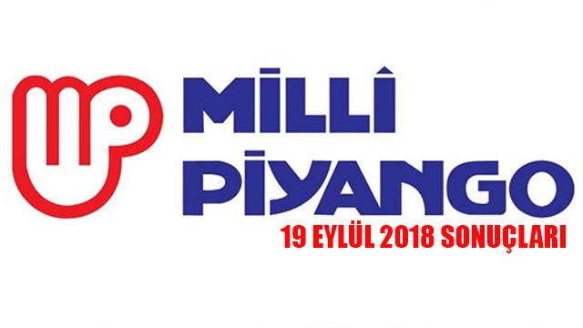 Milli Piyango 19 Eylül 2018 çekiliş sonuçları