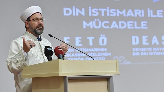Diyanet İşleri Başkanı'ndan dini istismar açıklaması