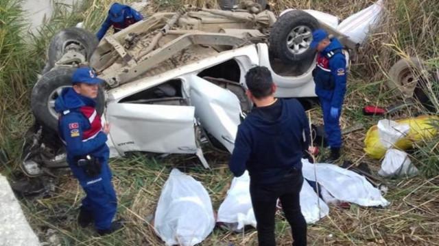Ankara'da kaza: 4 kişi öldü
