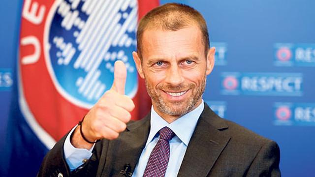 UEFA başkanlık seçimlerine tek aday!