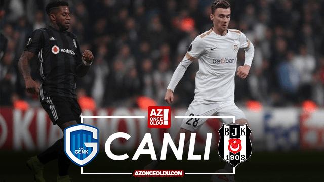 Genk Beşiktaş şifresiz canlı izle - Genk Beşiktaş Az TV İdman TV canlı izle