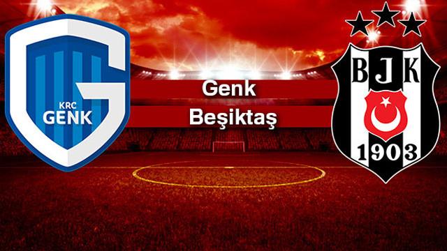 Beşiktaş Genk deplasmanından 1 puanla döndü