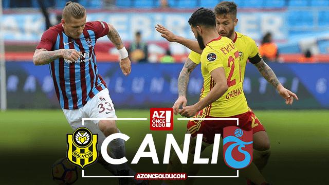 Yeni Malatyaspor Trabzonspor canlı izle - Yeni Malatyaspor Trabzonspor şifresiz izle