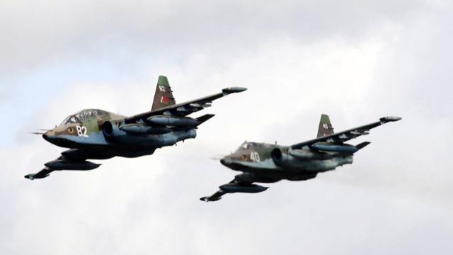 Ermenistan'da savaş uçağı düştü