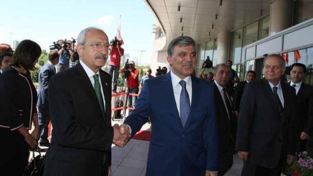 Kemal Kılıçdaroğlu, Abdullah Gül ile görüştü