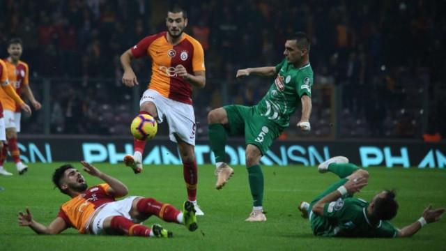 Galatasaray 1 puana razı oldu