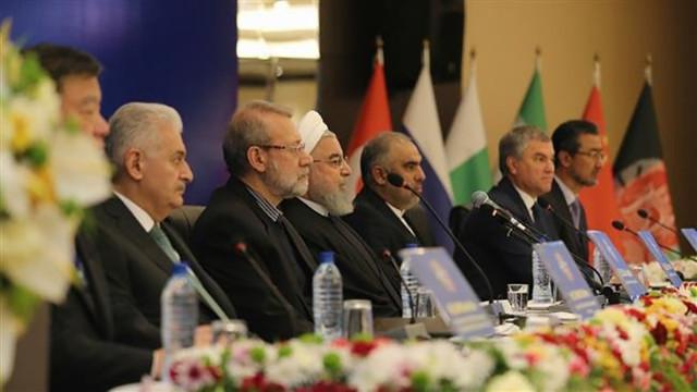 Yıldırım'dan Türkiye, İran ve Rusya açıklaması