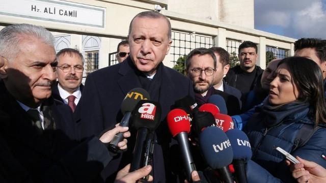 Cumhurbaşkanı Erdoğan'dan Palu ailesi yorumu