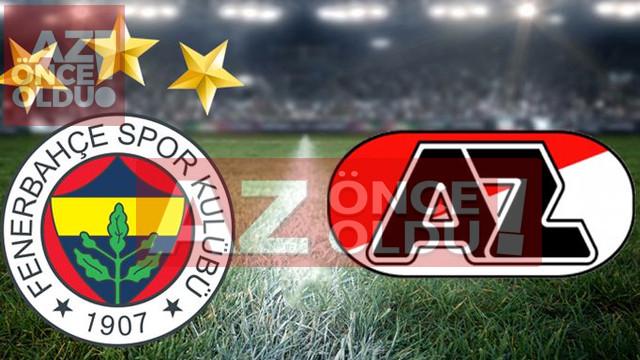 Fenerbahçe Az Alkmaar maçı şifresiz canlı izle