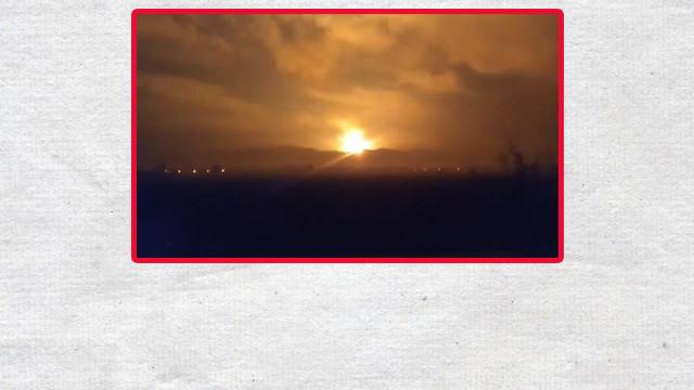 Son Dakika! Sakarya'nın Arifiye ilçesinde patlama!