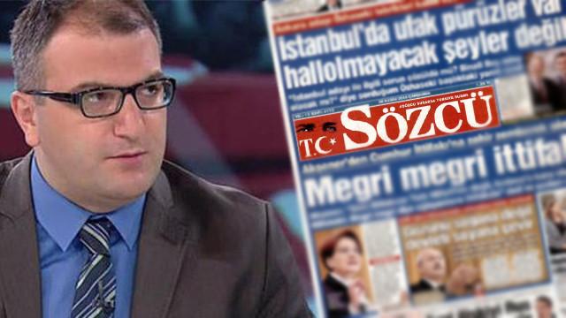 Cem Küçük Sözcü gazetesine kayyum atanacağını iddia etti