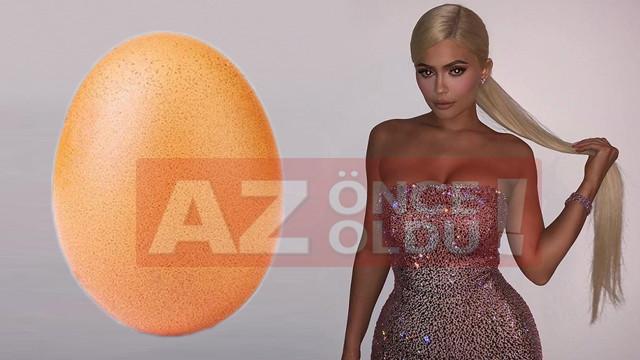 Kylie Jenner'ın tahtını yumurta hesap devirdi