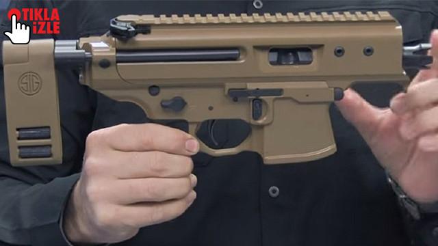 İşte dünyanın en küçük otomatik tüfeği