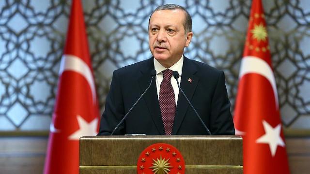 Cumhurbaşkanı Erdoğan Amerikan Türk Konseyi üyelerine konuştu