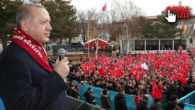 Cumhurbaşkanı Erdoğan: Bir merminin fiyatı nedir düşünün