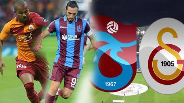 Galatasaray Trabzonspor'u ağırlıyor
