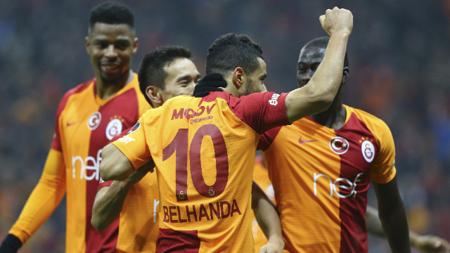 Galatasaray evinde Trabzonspor 3-1 mağlup etti