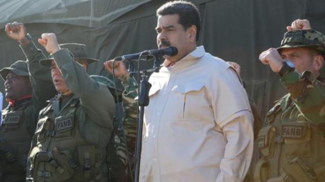 Maduro ABD'ye meydan okudu