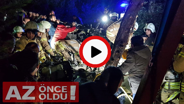 Çekmeköy helikopter düşme anı | Çekmeköy'de helikopter neden düştü? | UH 1 helikopterin özellikleri