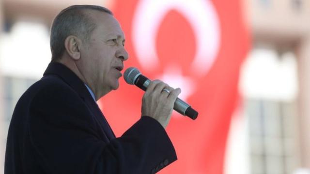 Erdoğan'dan şehit askerler için taziye mesajı