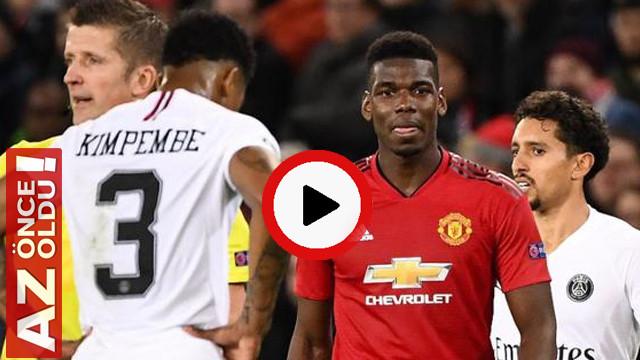 Man. United 0 - 2 Paris SG Maç Özeti | manchester united PSG maç özeti