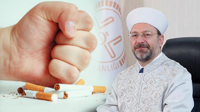 Diyanet İşleri Başkanı sigaraya karşı uyardı
