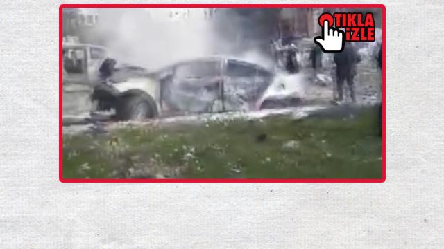 İdlib'de bombalı saldırı: Ölü ve yaralılar var!