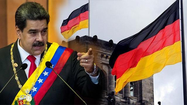 Venezuela'dan Almanya'ya diplomatik rest