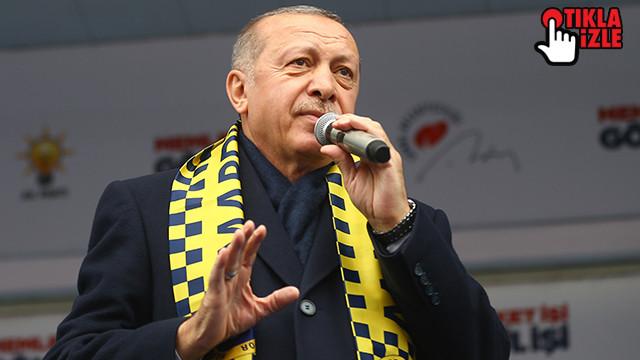 Cumhurbaşkanı Erdoğan: Şu anda avukatlarımı görevlendirdim