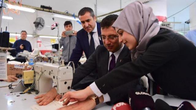 İmamoğlu: Seçilirsem kadınlar 8 Mart'ta çalışmayacak