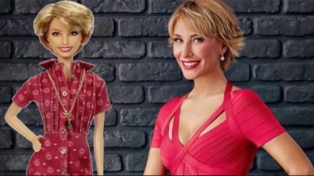 Gülse Birsel'in Barbie bebeği yapıldı