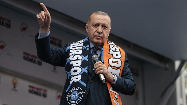 Cumhurbaşkanı Erdoğan: Bunların tek ittifakı ezan ve bayrak düşmanlığıdır