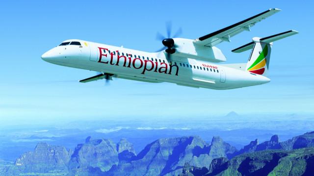 Etiyopya'da düşen uçakta kurtulan yok