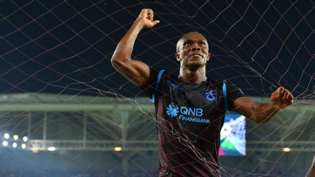 Trabzonspor'da Nwakaeme'nin hedefi 19 gol!