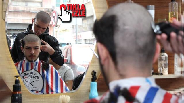 Kanser olan arkadaşları için saçlarını kazıttılar